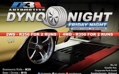 Dyno Night – 25 Sep 2020